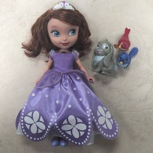 Talking Sofia The First and Friends